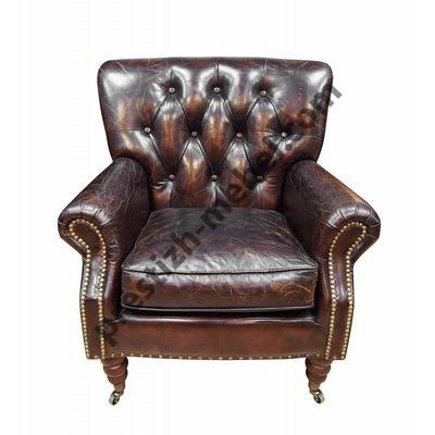 Кресло кожаное Cambridge