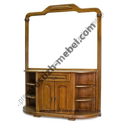 Туалетный столик с зеркалом (массив дуба)