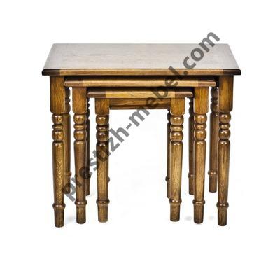 Набор столиков из 3-х штук (массив дуба)
