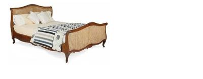 Кровать Кровать в стиле Лион (Красное дерево)